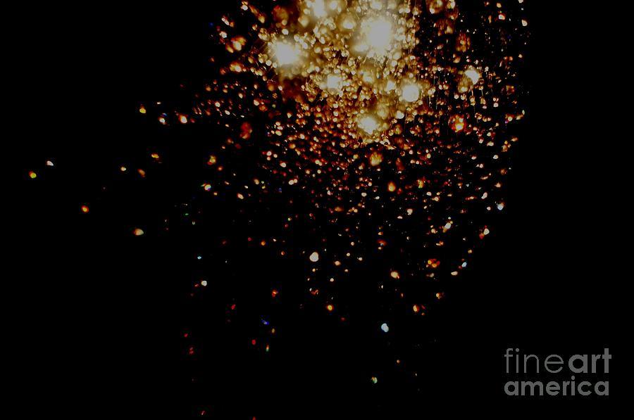 Galaxy Photograph - Galaxy-i by Baljit Chadha