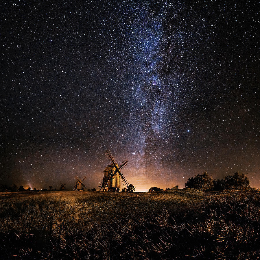 Galaxy Rising Photograph by J?rgen Tannerstedt