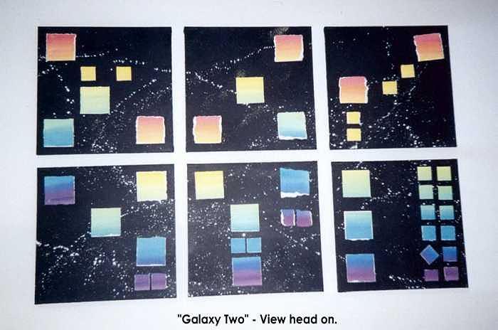 Abstract Mixed Media - Galaxy Two by Carol Sabo