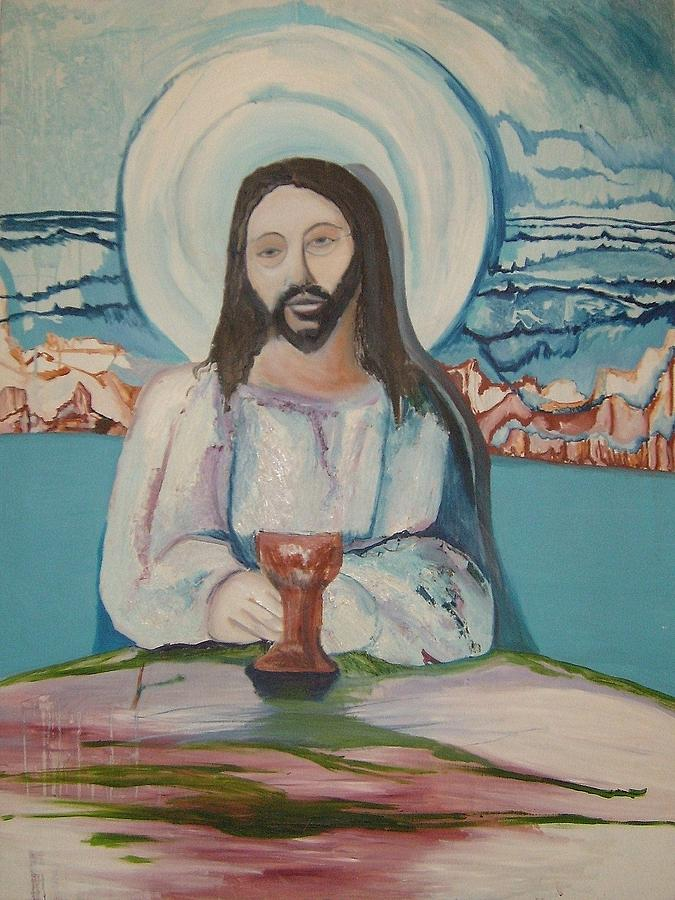 Religious Painting - Galilee by Mark Greenhalgh