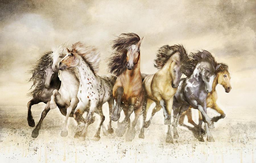 Magnificent Seven Painting Sale
