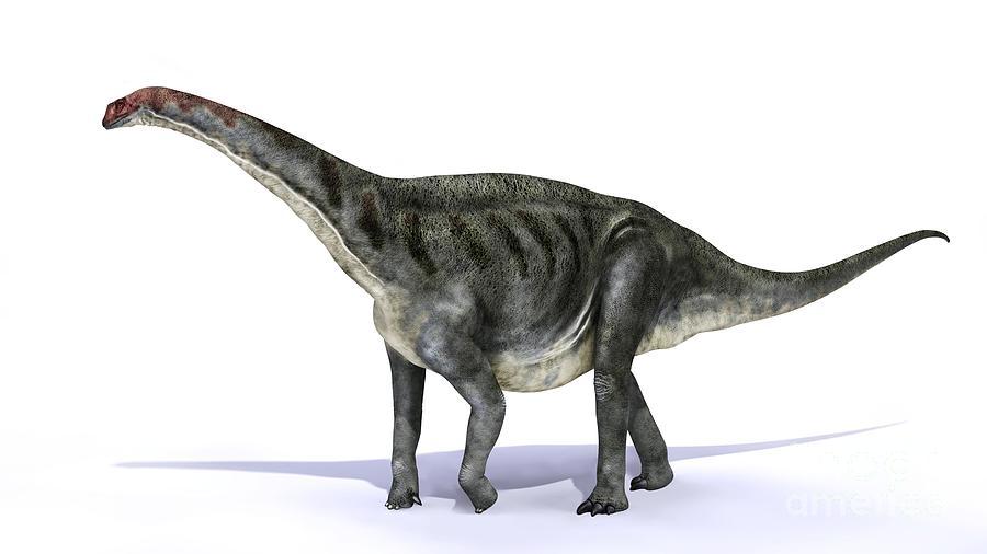 Animal Photograph - Galvesaurus Dinosaur, Artwork by Jose Antonio Pe??as