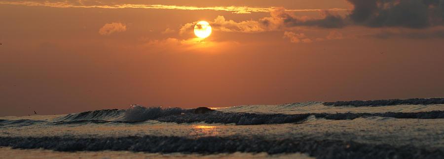 Galveston Photograph - Galveston Beach - Texas by Michael Davis