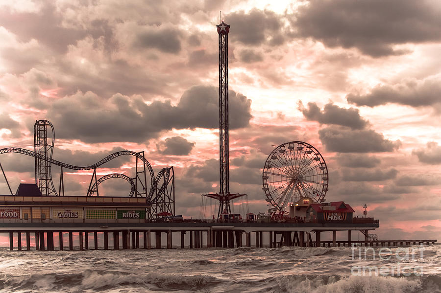 Landscape Photograph - Galveston Island Morning by Robert Frederick