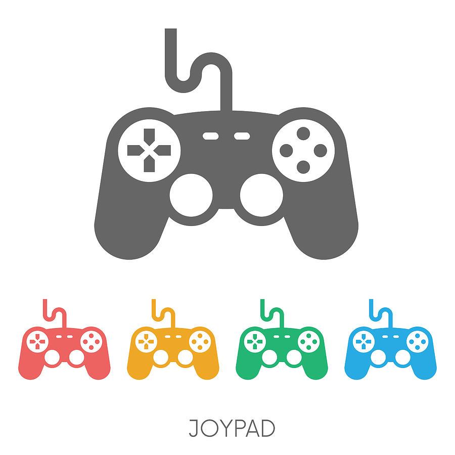 Game Controller Vector Icon Design By Family Creative