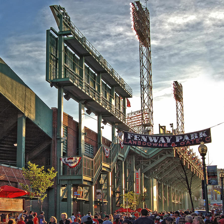 Red Sox Photograph - Game Day - Fenway Park by Joann Vitali
