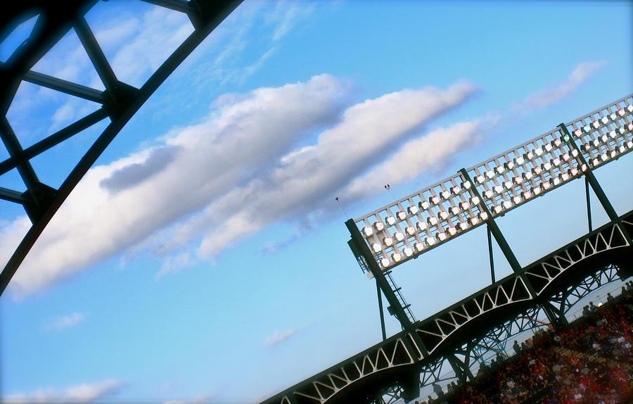 Baseball Photograph - Game Day by Jon Berry OsoPorto
