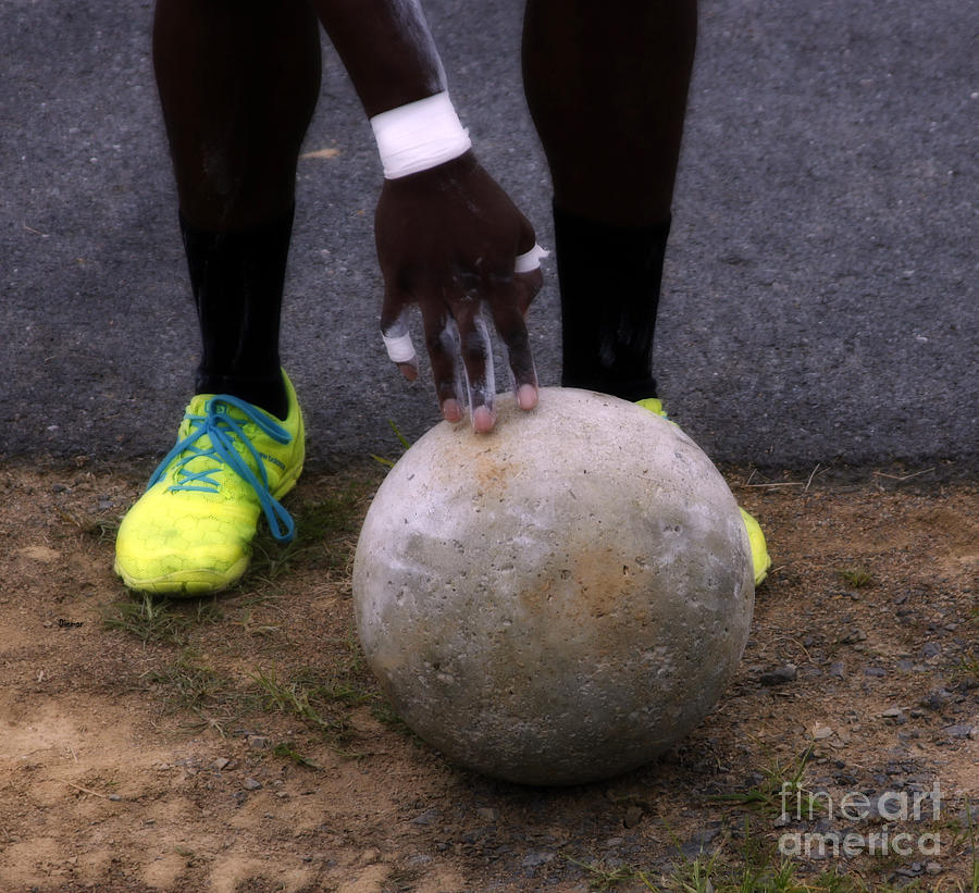 Sports Photograph - Game Of Stones by Steven Digman