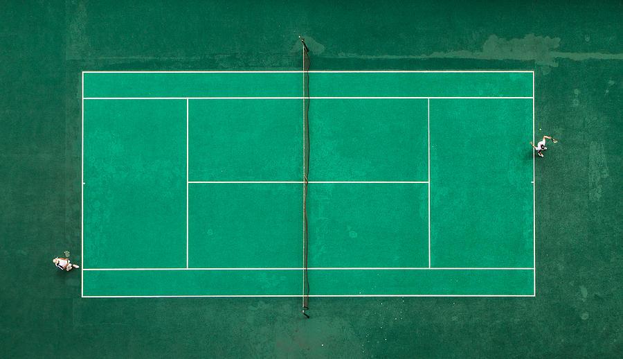 Tennis Photograph - Game! Set! Match! by Fegari