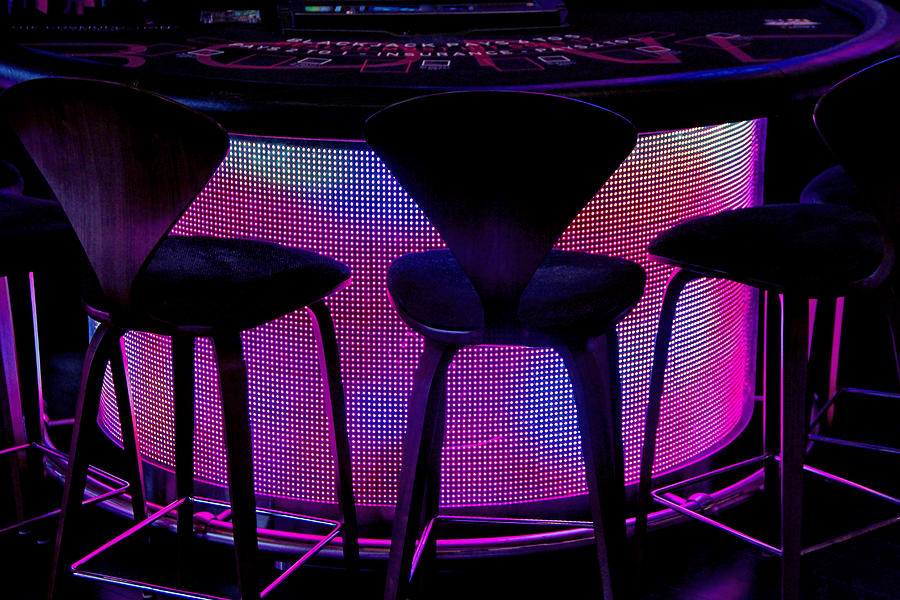 Gaming Table Photograph - Game Table by Tammy Espino