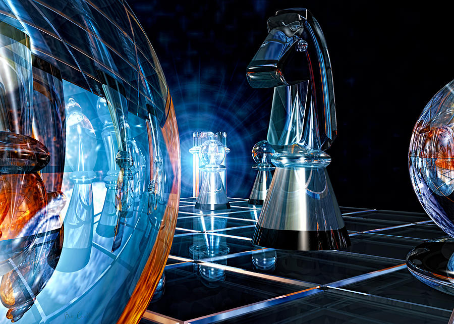 Chess Photograph - Game Transparent  by Bob Orsillo