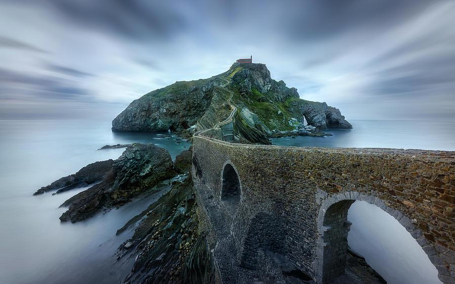 Spain Photograph - Games Of Thrones - Dragonstone Island -san Juan De Gaztelugatxe by Jes?s M. Garc?a