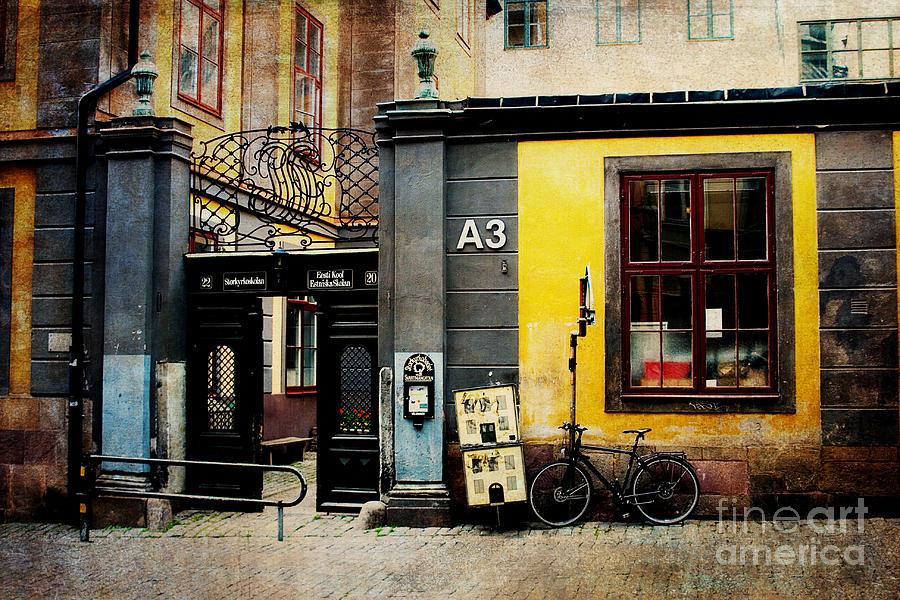 Gamla Stan Photograph - Gamla Stan Street by Joan McCool