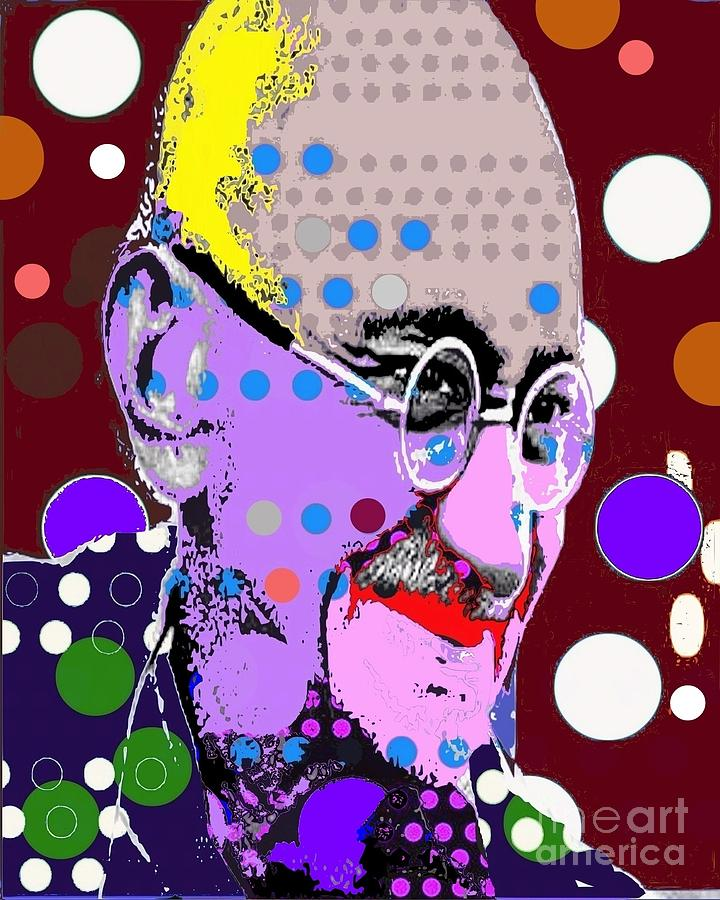 Gandhi Digital Art - Gandhi by Ricky Sencion