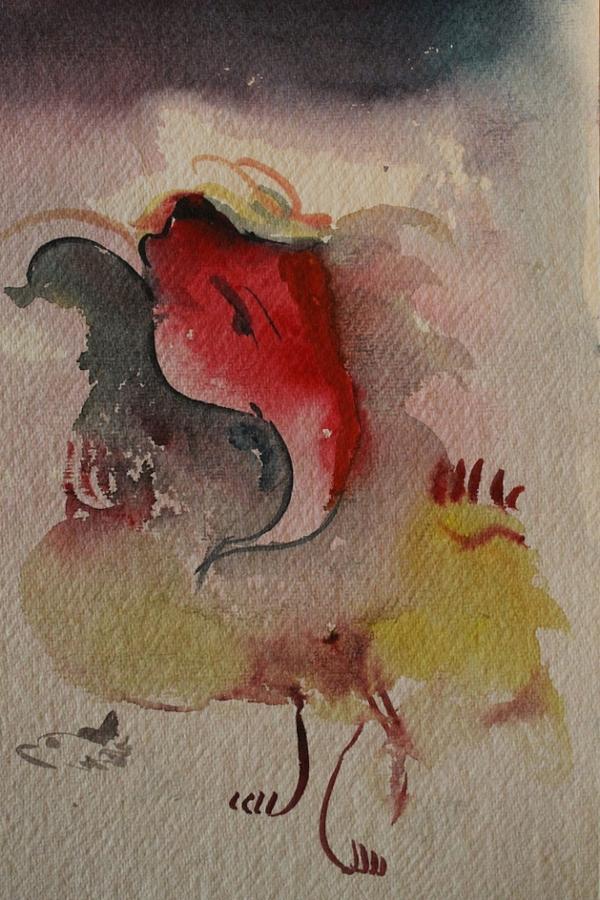 Paintings Painting - Ganesh 7584 by Sir