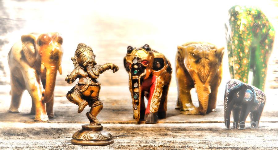 Hindu Photograph - Ganesh Dream by Olivier Le Queinec