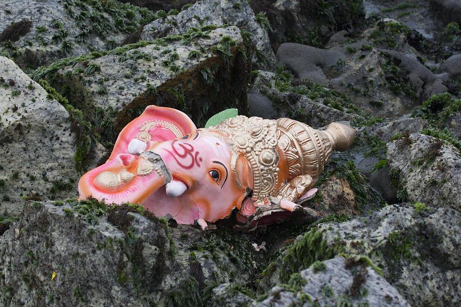 Festival Photograph - Ganesh by Sonny Marcyan