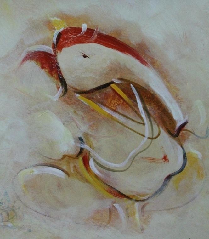 Paintings Painting - Ganesha 345 by Sir
