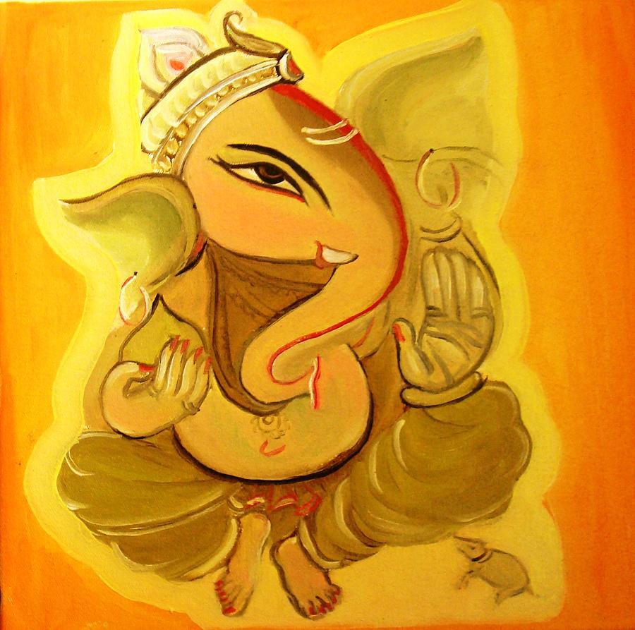 Modern Ganesha Paintings | www.imgkid.com - The Image Kid ...