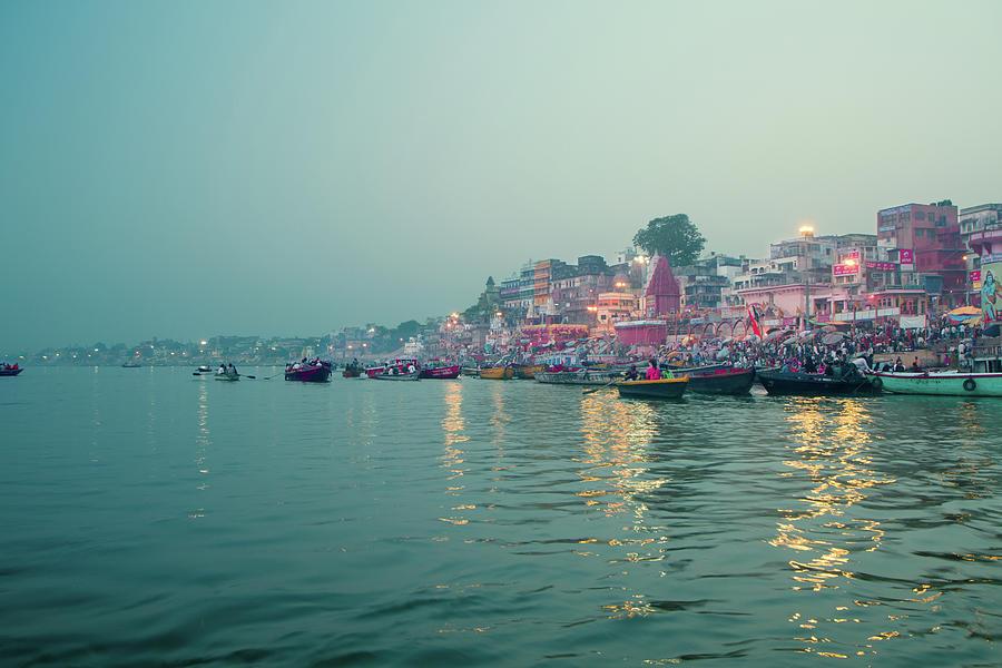 Ganga River, Varanasi Photograph by Enn Li Photography