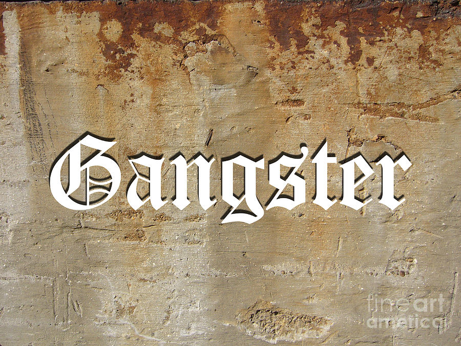 Gangster Digital Art by Marvin Blaine