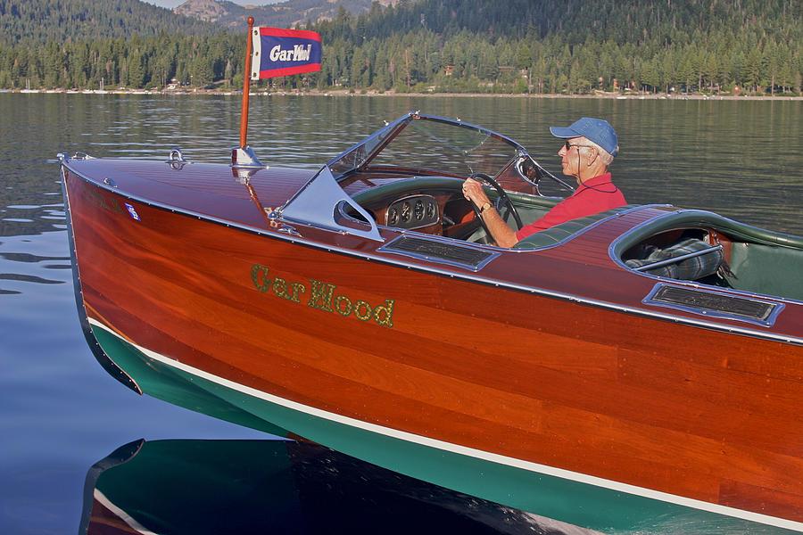 Gar Wood Speedboat Photograph by Steven Lapkin