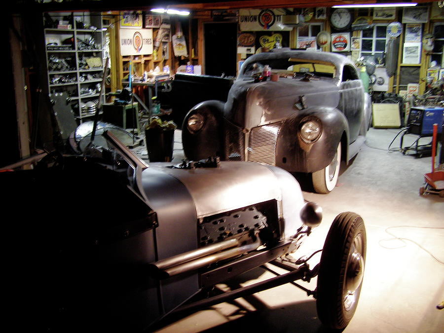 Garage tour photograph by alan johnson for Garage daf tours