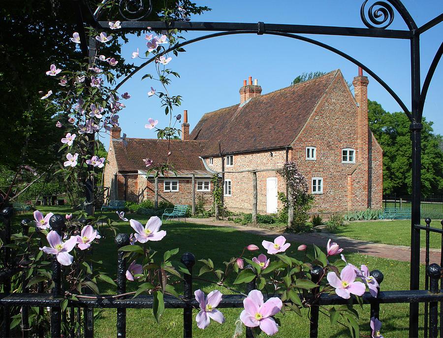 Garden Photograph - Garden  Cottage by Stephen Norris