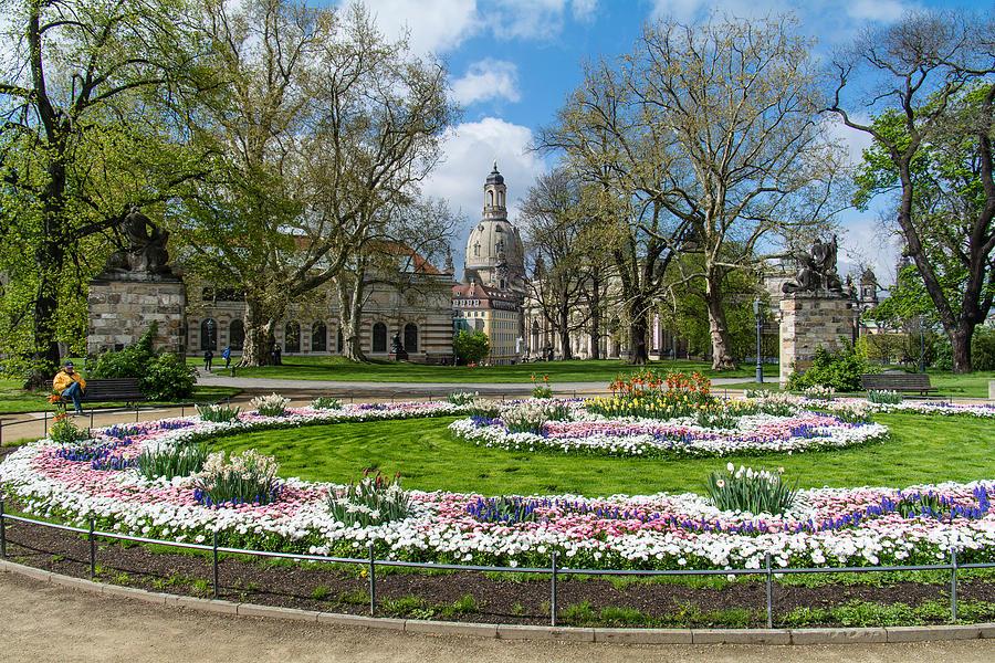 Dresden Garden Photograph