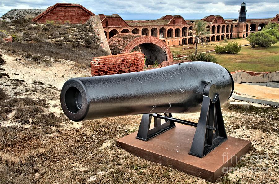 Fort Jefferson Photograph - Garden Key Defense by Adam Jewell