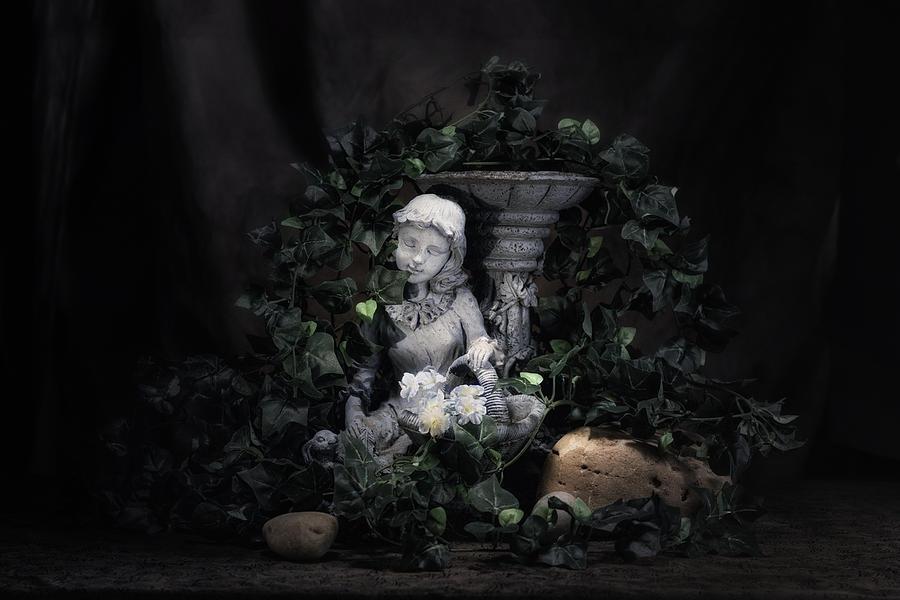 Basket Photograph - Garden Maiden by Tom Mc Nemar
