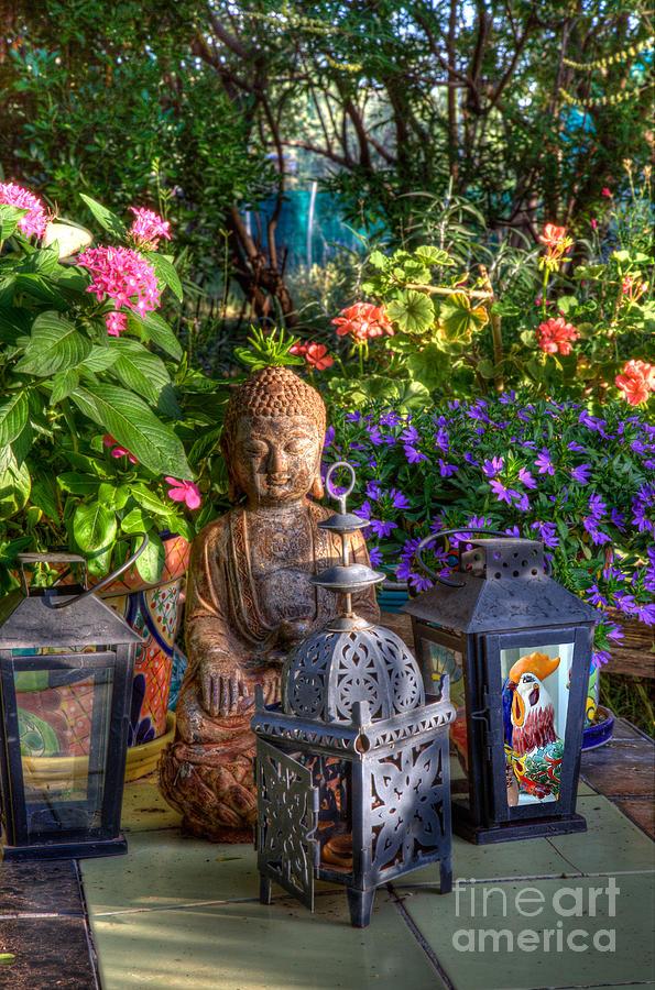 Garden Meditation Photograph