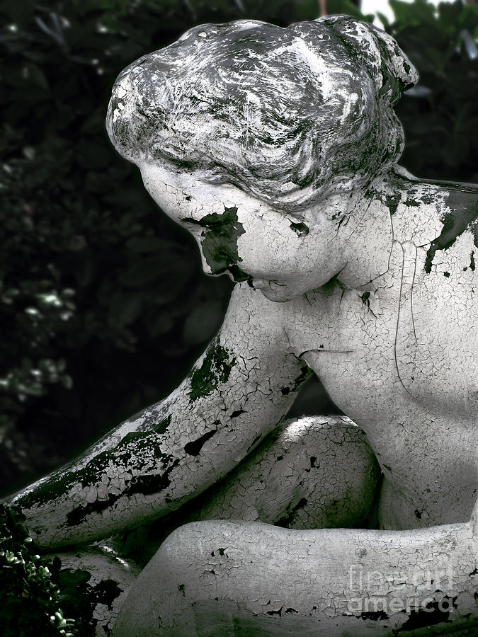 Statue Photograph - Garden Nymph by Colleen Kammerer