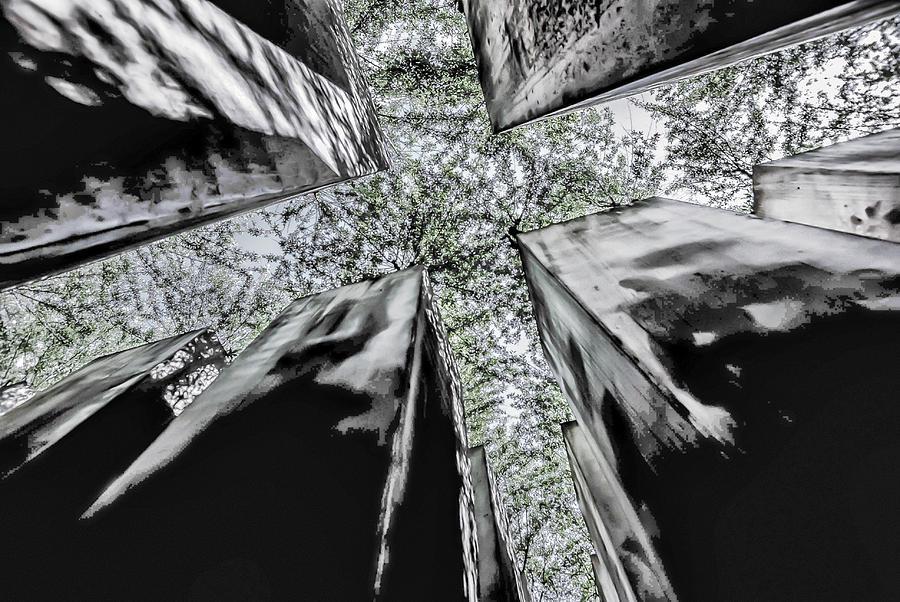 Architecture Photograph - Garden Of Exile by Peter Benkmann