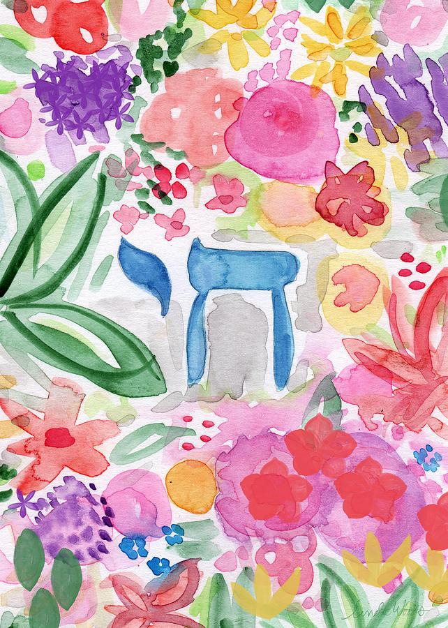 Garden Painting - Garden of Life by Linda Woods