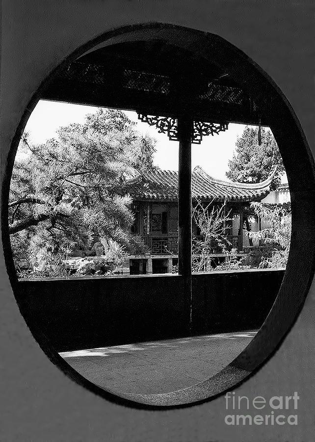 Suzhou Photograph - Garden Of The Master Of Nets by Nigel Fletcher-Jones