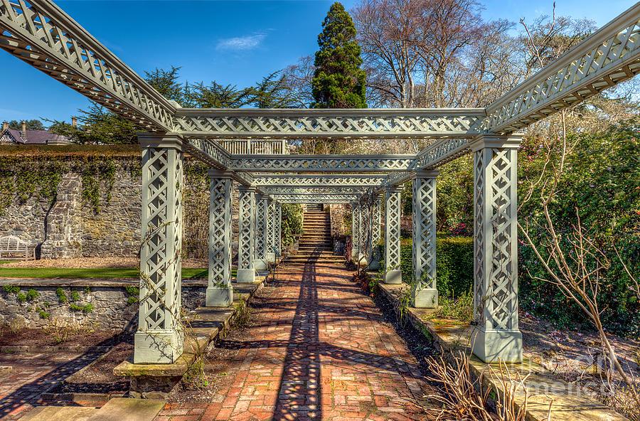 1792 Photograph - Garden Path by Adrian Evans