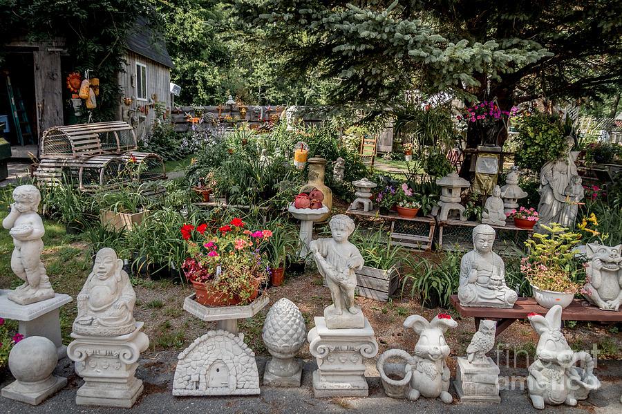 Garden Sculptures Photograph