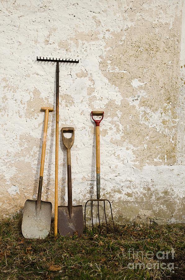 Tool Photograph - Garden Tools by Kennerth and Birgitta Kullman