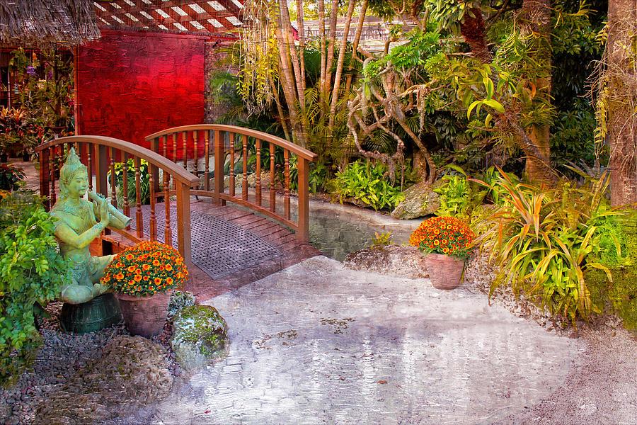 Garden Photograph - Garden View Series 25 by Carlos Diaz