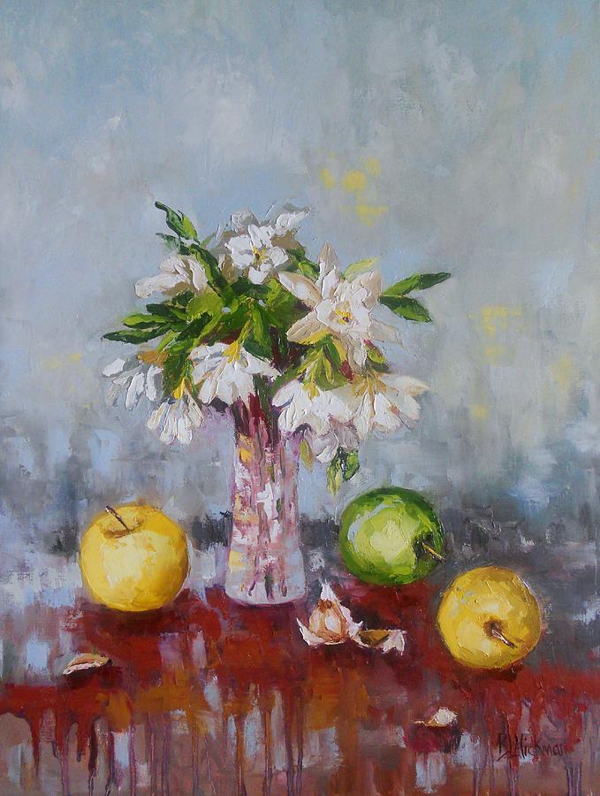 Gardenias Painting - A Lasting Fragrance by Brandi  Hickman