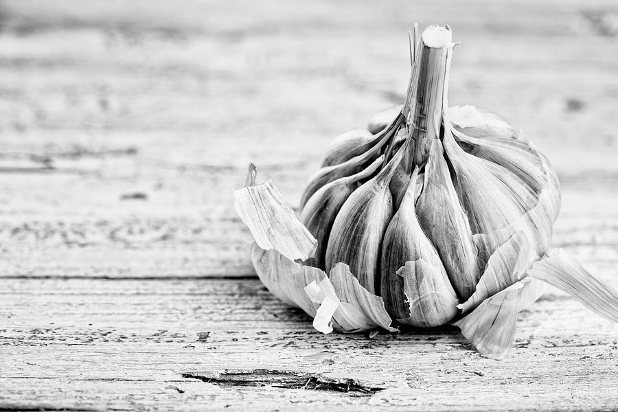 Garlic Photograph - Garlic by Nailia Schwarz