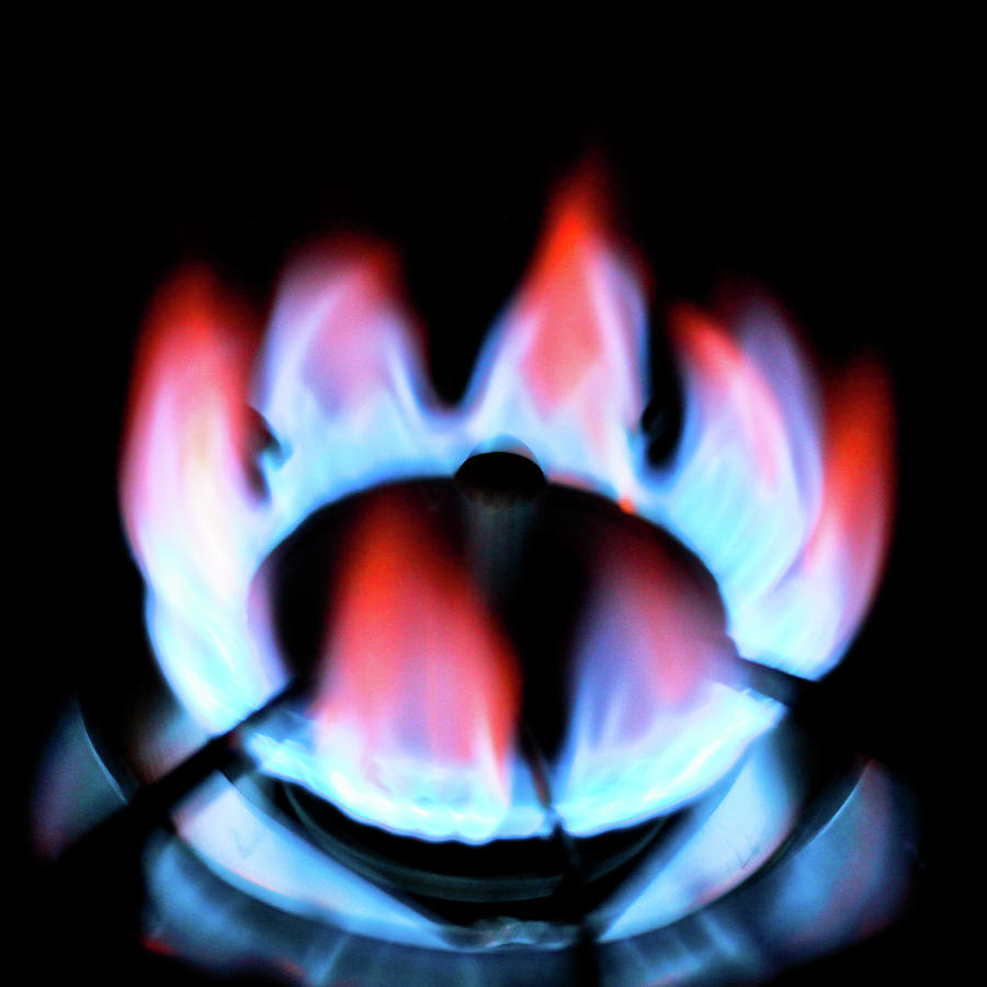 Gas Flame Photograph by Aquirae