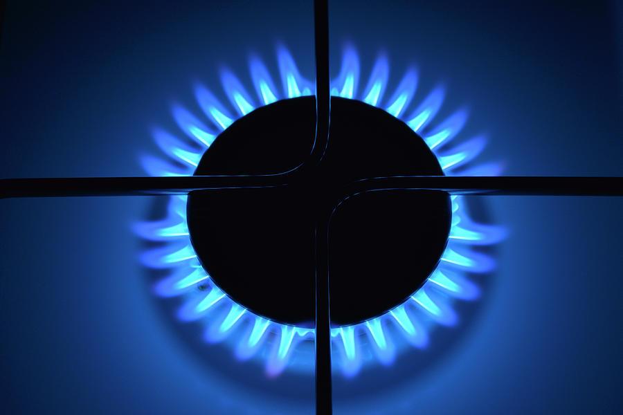 Gas Flame Photograph by Raimund Linke