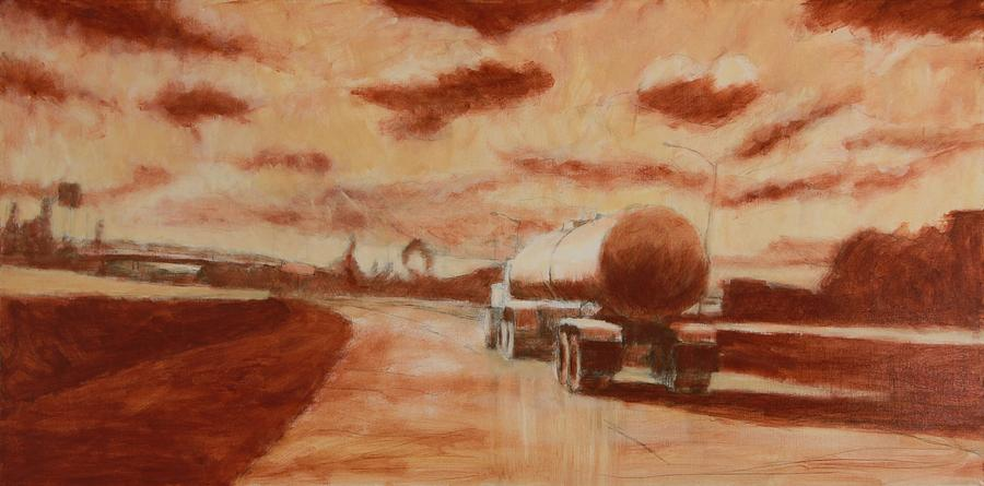 Gas Painting by Jeff Levitch