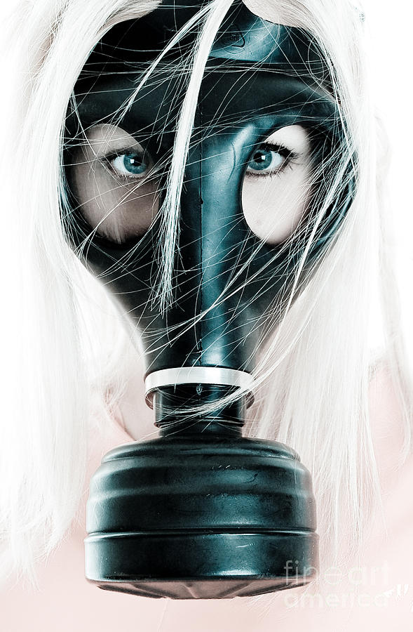 Activism Photograph - Gas Mask by Jt PhotoDesign