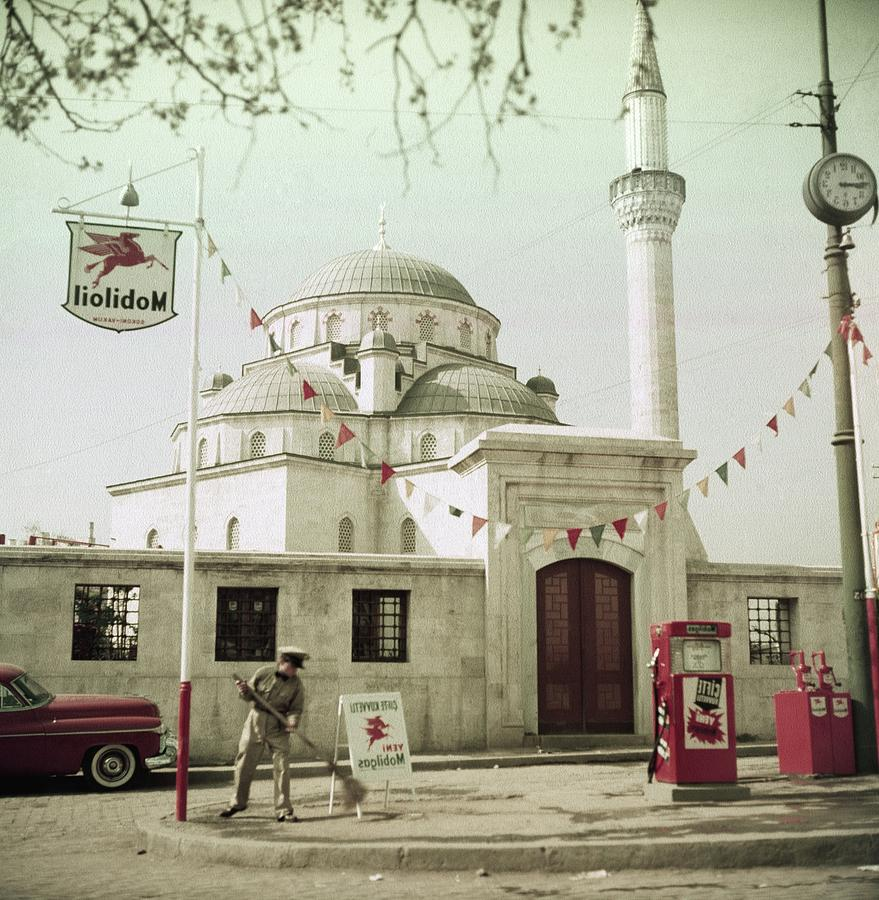 Gas Station In Turkey Photograph by Horst P. Horst