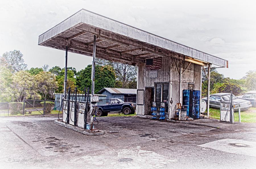 Hawaii Photograph - Gasoline Station by Jim Thompson