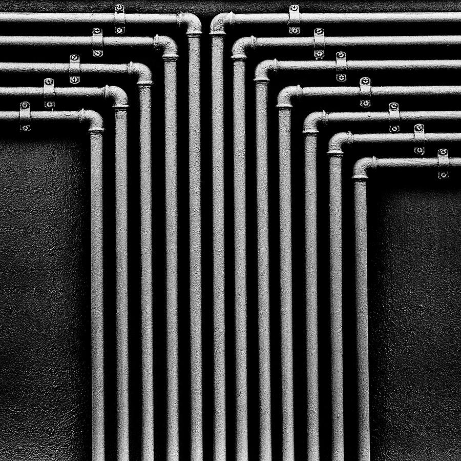 Pipes Photograph - Gasss by Antonio Zaccagnino