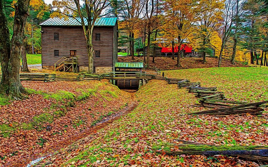 Gastons Mill by John M Bailey